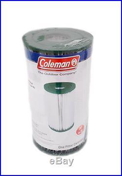 12 Coleman Swimming Pool Filter Pump Replacement Cartridge Type IV, Type B
