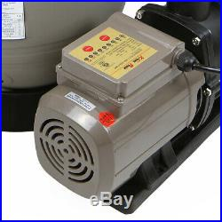 13 Sand Filter with Pool Pump Kit Above Ground Digital Programmer Timer 2640GPH