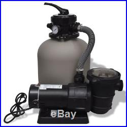 14 Above Ground Swimming Pools SPA Pump Sand Filter System 4500GPH 1PH Filt