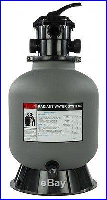 16 Sand Filter for Swimming Pools 110lb Sand Capacity