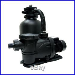 19 In. Pool Sand Filter System With 1.5 Hp Pump