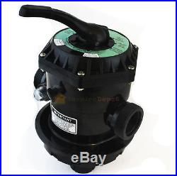 19 Inch Swimming Pool Sand Filter With 7 Way Valve Inground Pond Fountain New