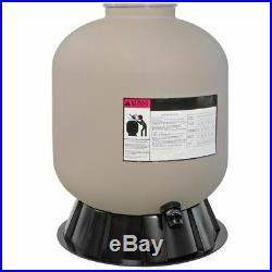19 Pool Sand Filter 7-Way Valve Inground Swimming Pond Fountain System Stand