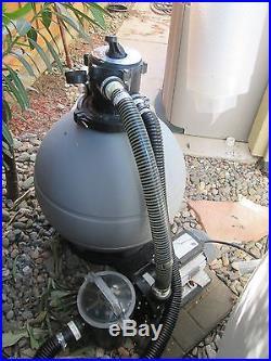 1 5 hp swimming pool filter pump 22 sand tank system - Swimming pool filter system price ...