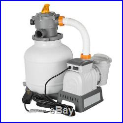 2200 Gallon Above Ground Swimming Pool Flowclear Sand Filter Machine Pump 58500E