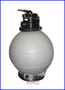 22 Above Ground Swimming Pool Sand Filter 200 lb Sand Capacity
