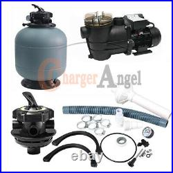2800GPH 16 Sand Filter Above Ground Swimming Pool Pump intex compatible