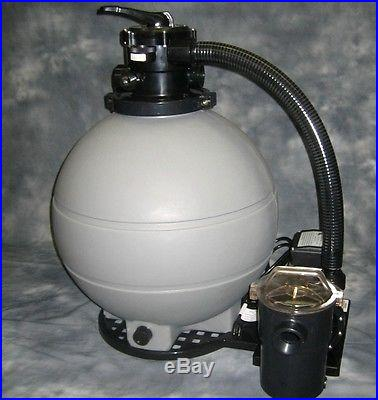 2 HP Swimming POOL PUMP 22 Sand FILTER System DEAL 1