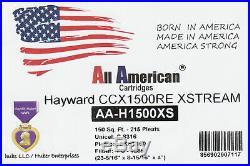 2 PAK Hayward Xstream CCX1500RE Unicel C-8316 Pleatco PXST150 Filter Cartridge