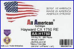 2 PK Unicel C-8417, Hayward CX1750RE, Pleatco PA175, Filbur FC1294, Pool Cartridge