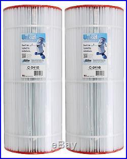 2 Unicel C-9410 100 Sq Ft Pentair Clean Clear Predator Cartridge Filter R173215