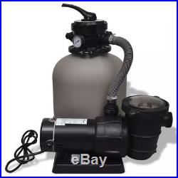 4500 GPH Saltwater System with Sand Filter Pump Above Ground Swimming Pool Set