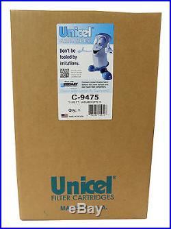 4 NEW Unicel C-9475 Jacuzzi Spa CFR 75 Sq Ft Filter Cartridges Element PJ75-4
