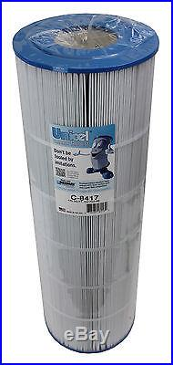 4 New UNICEL C-8417 Hayward Replacement Swimming Pool Filter Cartridges PXC-150