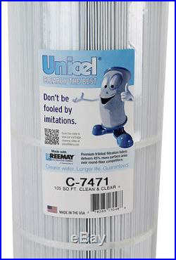 4 New Unicel Clean & Clear Plus Replacement Cartridge Filter C7471 PCC105