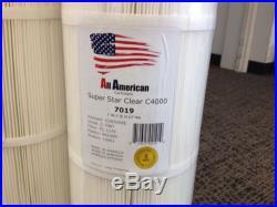 4 PACK Hayward CX870XRE Super Star Clear 4000 Unicel C7487 AA7019 Pool Cartridge
