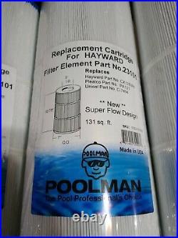(4 PACK) POOLMAN HAYWARD Replacement Pool Cartridges CX1280RE PA131 C7494 NEW