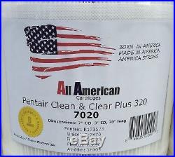 4 PACK Pentair Clean & Clear Plus 320 Pleatco PCC80 Filbur FC-1976 Pool Filter