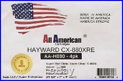 4 PAC Hayward CX880XRE Swim Clear C4025 Filbur FC-1226 Pleatco PA106 Pool Filter