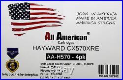 4 PK Hayward CX570XRE Swim Clear C-3000 Unicel C-7477 Pleatco PA75SV Cartridges