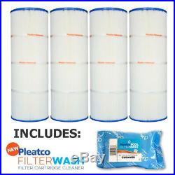 4 Pack Pleatco PA75SV-PAK4 Filter Hayward C-570 Swim Clear with 1x Filter Wash