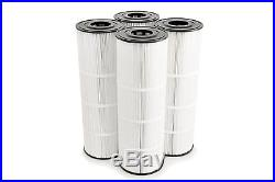 4 Pentair Clean Clear 520 Filter Cartridge XLS706 C-7472 FC1978 PLEATCO PCC130