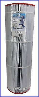 4 Unicel C-9415 Pentair Predator Clean & Clear 150 Pool Filter Cartridges C9415
