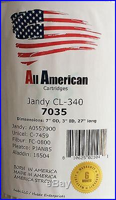 4 pack Jandy CL-340 Unicel C-7459 OEM A0554500 Filbur FC-0800 Filter Cartridge