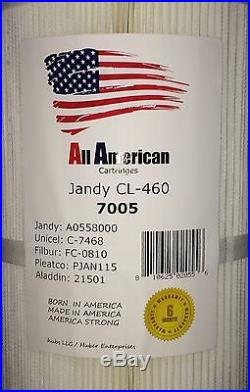 4 pack Jandy CL-460 Unicel C-7468 Pleatco PJAN115 OEM A0558000 Filter Cartridge