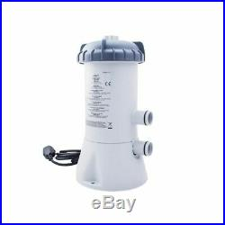 530 Gph Pool Pump Filter Water Cleaning Kit Long Service Cartridge Swimming Hose