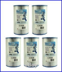 5 Unicel C-6430 Hot Springs Watkins Spa Filter Replacement 31489 Cartridges