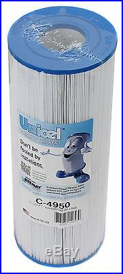 6 New Unicel C4950 Pool/Spa Filters Replace Jacuzzi Cartridge C-4950 50 sq. Ft
