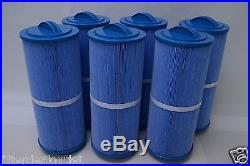 6 PACK POOL/SPA FILTER FITUnicel 5CH-352, FC-0196, PPM35SC-F2M ANTIMICROBIAL BLUE