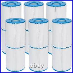6 Pack Spa Filters Fits Unicel C-4950 Pleatco PRB50-IN FC-2390 Rainbow, Cal spa