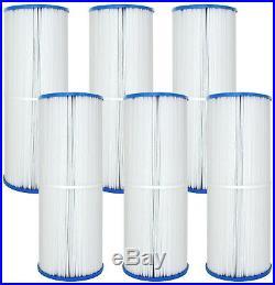 6 pack Pool Spa Filters Fit Unicel C-5374 FC-2971 Pleatco PLBS75 Cal Spas