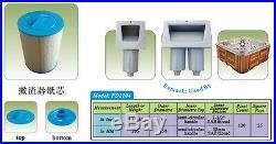 6 x Filter PWW50 Spa Hot Tub Filters Superior spas, Miami spas