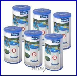 6 x INTEX 29005 Pool Filter Cartridge SIZE TYPE B for Swimming Pool PUMP