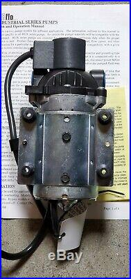 8025-213-256 Shurflo Diaphragm Pump Brand New With Cord And Paper Work 60psi