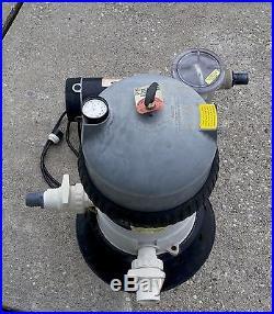 Above Ground Pool Jacuzzi DE40 Splash Pak Filter System with 1 HP Pump