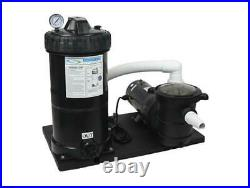 Above Ground Pump 75 Sq Ft Cartridge Filter System withElement FREE SHIPPING