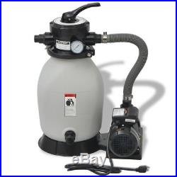 Above Ground Swimming Pool Master Sand Filter System With Pump 0.35 HP 2694 GPH
