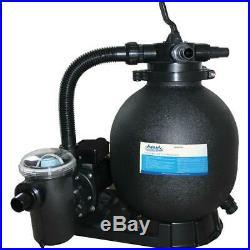Aqua Pro APA1063075LBS 15 Above Ground Sand Filter System