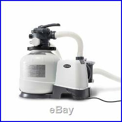 Automatic Sand Filter Pump Water Filter for Above Ground Swimming Pool 2800 GPH