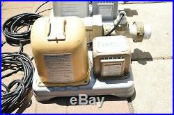 BROKEN Lot of 2 Intex Krystal Clear Saltwater Chlorine Generators Pool 8110