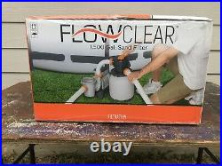 BestWay Flowclear 1500 Gallon Above Ground Pool Sand Filter Pump