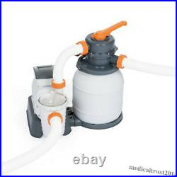 Bestway 1500Gallon Sand Filter Pump System for Above Ground Swimming Pool 58498E