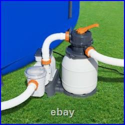 Bestway 1500Gallon Sand Filter Pump for Home Above Ground Swimming Pool 58498E
