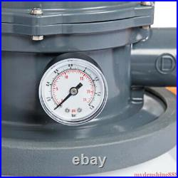 Bestway 1500 GPH Sand Filter Pump System for Above Ground Swimming Pool 58498E