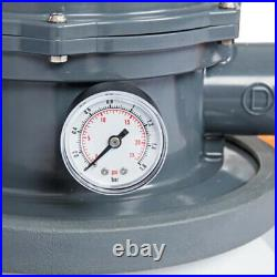 Bestway 1500 Gal Sand Filter System for Above Ground Swimming Pool Pump 58498E