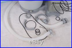 Bestway 58257 Sandfilterpumpe 3.785 l/h Filter Pool Becken Pumpe Flowclear